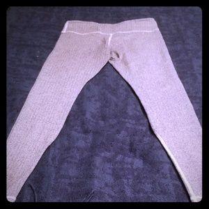 Lululemon wunder under ghost herringbone pants 8